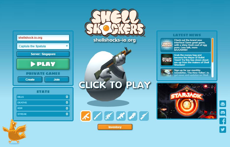Shellshock.io Game
